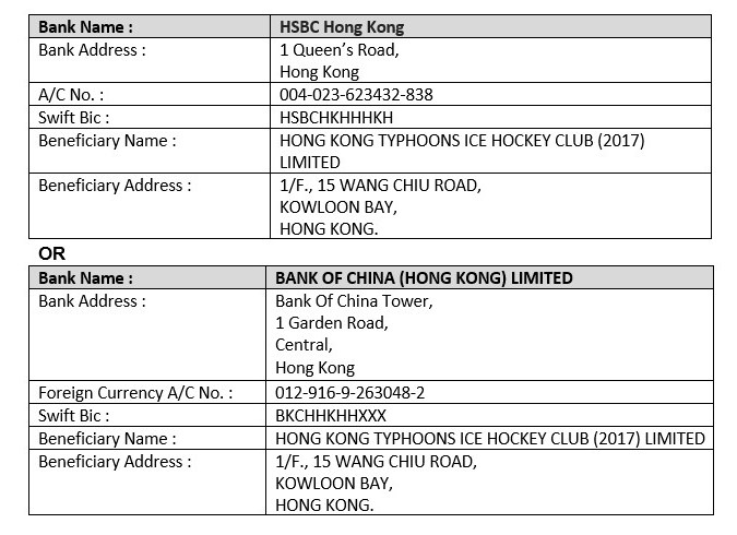 HK Typhoons new Bank Info Overseas 2
