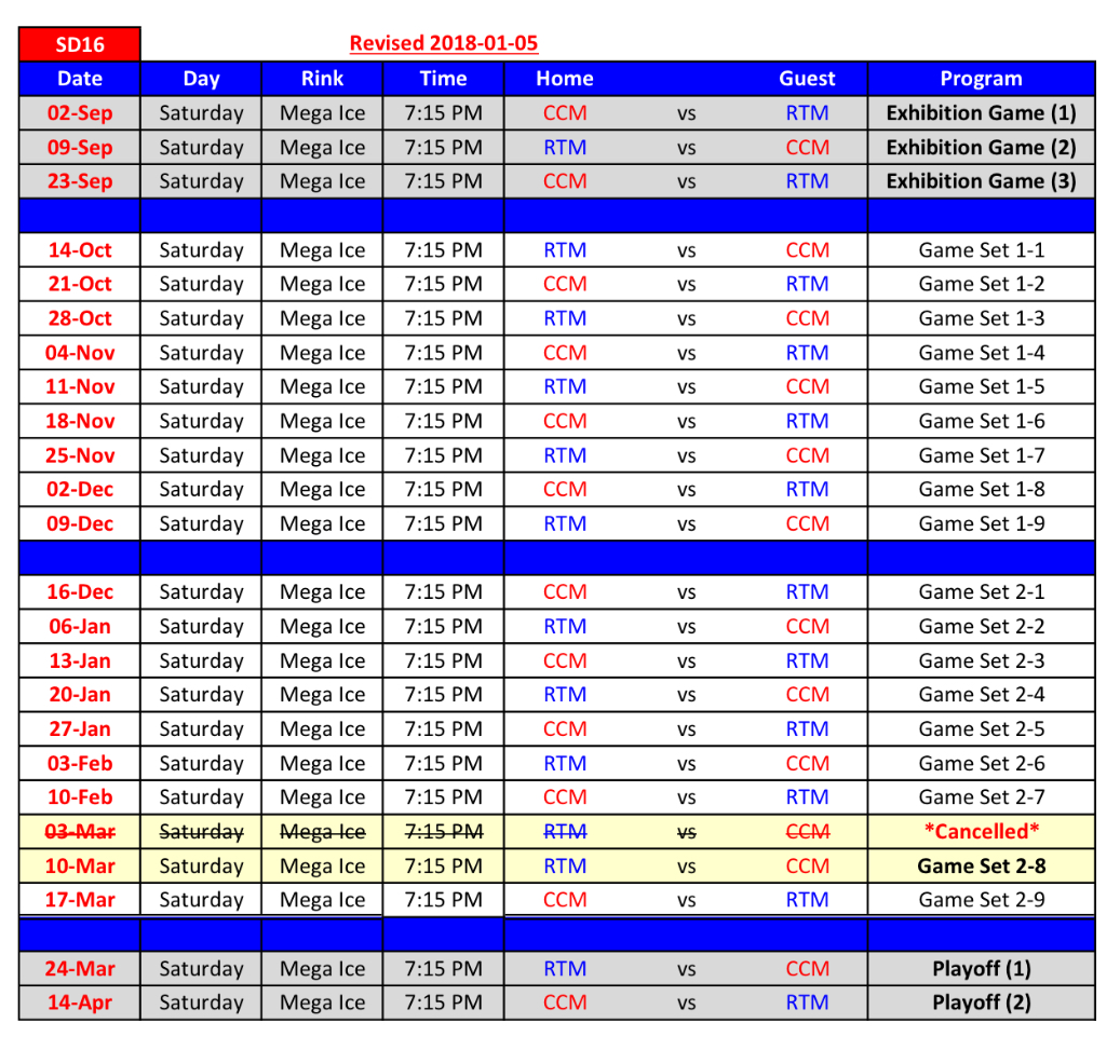 SD16 Game Schedule R3